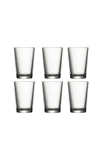 Paşabahçe Paşabahçe 52752 su bardak - 6 lı doro su bardağı Renkli